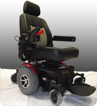 Immobilized Powerchair